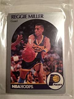 1990-91 NBA Hoops Indiana Pacers Team Set 12 Cards Reggie Miller Rik Smits