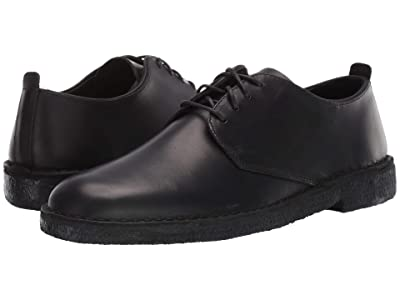 Clarks Desert London (Black Polished) Men