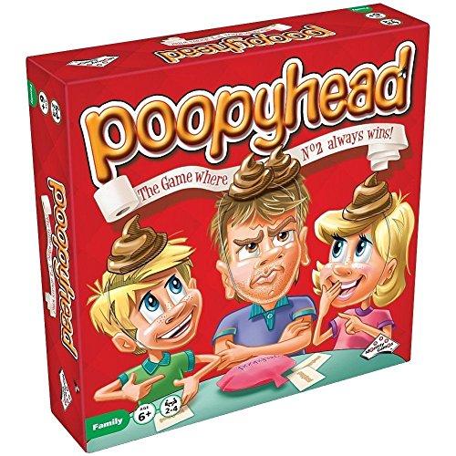 Sambro Poopy Head - Kids Funny Board Game, Family Fun