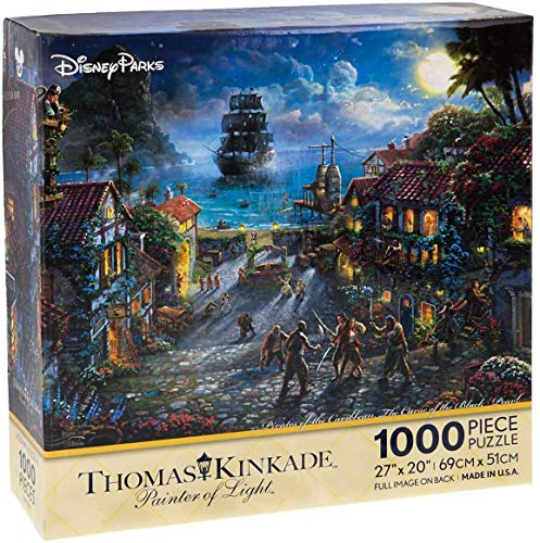 Parks Exclusive Thomas Kinkade Pirates of Caribbean 27x20 1000 Pc. Puzzle by