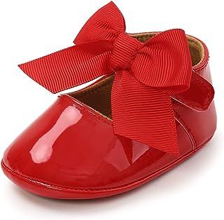 Amazon.com: Baby Girls' Flats - Red