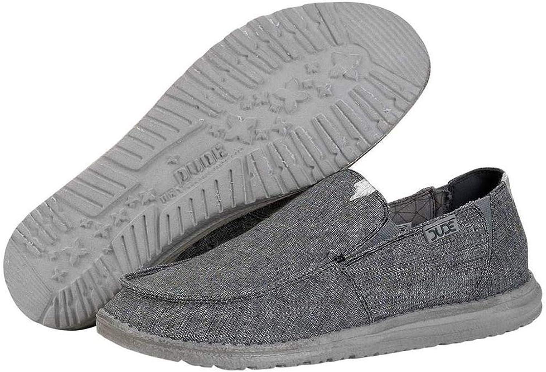 Dude shoes Chan Stretch shoes   Steel 110993200 Size EU 43 US 10
