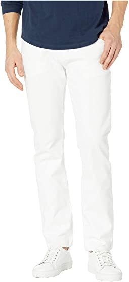 Rigid Slim Straight Five-Pocket in White