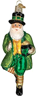 Best Old World Christmas Assortment Glass Blown Ornaments for Christmas Tree Irish Santa Review