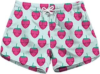 Honeystore Women's Casual Swim Trunks Quick Dry Print Boardshort Beach Shorts Lbp-6008 S