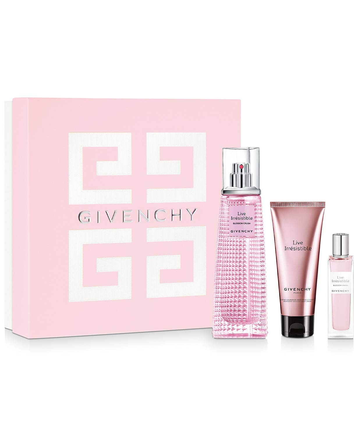 Givenchy Live Irresistible for Women 3 Ea 2.5 5% OFF Set Oz Gift Piece Popular products