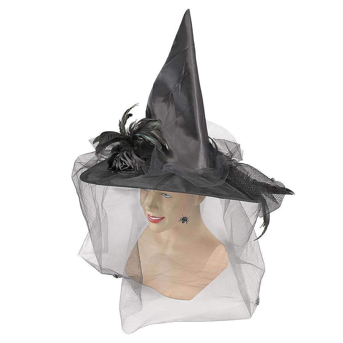 Bristol Novelty BH422 Witch Hat Black, Womens, One Size
