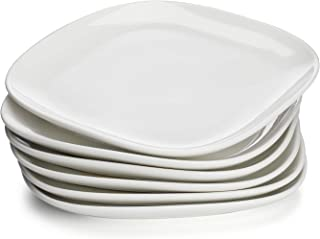 red square dinner plates