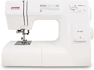 Janome HD3000 Heavy-Duty Sewing Machine with 18 Built-In Stitches + Hard Case (Renewed)