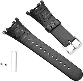 Strap R Correa para Relojes, Armband Vector Black elastomer (SS004768000), Negro, Talla Única