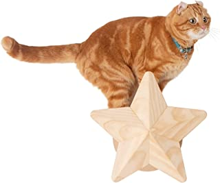 MYZOO Twinkle Star, Cat Tree, Scratcher Made of Solid Wood Modern Furniture Design,Also Suitable for Kitten