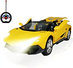 ANJ Kids New Holiday Toy - Premium Remote Control Car for Boys and Girls - Full RC Car Function | Smart Wing Doors and Smart Headlights - Perfect Remote Control Toy for Kids (Smart 1:18)