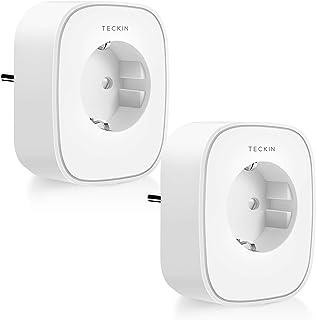 TECKIN Presa Intelligente WiFi 16A 3680W Energy Monitor Presa Smart Compatibile con Alexa Echo Dot e Google Home, Controll...