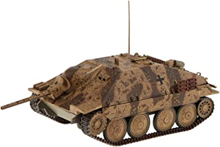LEIPUPA German Jagdpanzer Hetzer Tank Miniature Model - 1:72 Scale WWII Infantry Tank, Home/ Office/ Coffee Bar/ Showcase Collectable Decor