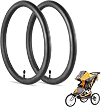 16'' x 1.75/2.125 Inner Tire Tube, Duty Thorn Resistant Wheel Replacement Tubes, for Baby Trend Jogger Strollers - The Perfect Baby Stroller Tire Replacement Set [2-Pack]