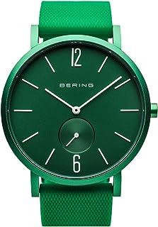 BERING Reloj Analógico para Unisex de Cuarzo con Correa en Silicona 16940-899