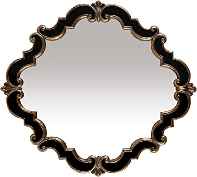 Sterling Industries Elk Home Frederick Medallion Mirror, Antique