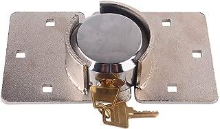 Heavy Duty Van Garage Shed Door Security Padlock & Hasp Set High Security Hasp Shackle Lock 73mm Steel with Bolt