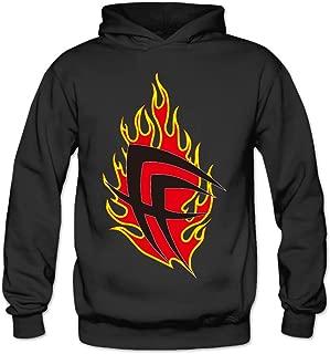 MSKOOK Women's Fear Factory Logo Hooded Sweatshirt