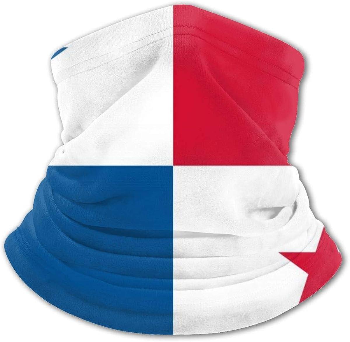 Flag Of Panama Headwear For Girls And Boys, Head Wrap, Neck Gaiter, Headband, Tenn Fishing Mask, Magic Scarf, Tube Mask, Face Bandana Mask For Camping Running Cycling
