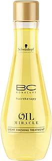BC Bonacure OIL MIRACLE Light Oil Treatment, 3.38-Ounce