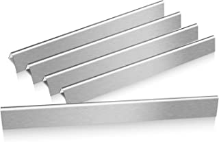 Hisencn 24.5 inch Flavorizer Bars for Weber Genesis 300 Series, E310, E320, S310, S320 (with Side Control Panel), 24.5