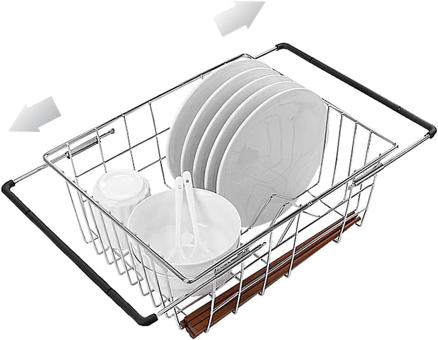 Dish Drying Rack 304 Stainless New Orleans Mall Frame Drai Steel Tucson Mall Expandable