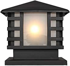 European Square Garden Light Outdoor Landscape Lawn Lights Garden Exterior Die-cast Aluminum Rainproof IP54 Column Lamp Do...