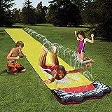 QYHSS Kinder einweichen Spritzen, Aqua Garden Wasserrutsche Sprühsprinkler, Pool Spielzeug, muss für diesen Sommer haben, Outdoor-Garten Spaß, für Familien, Pool-Partys (480 * 70CM)
