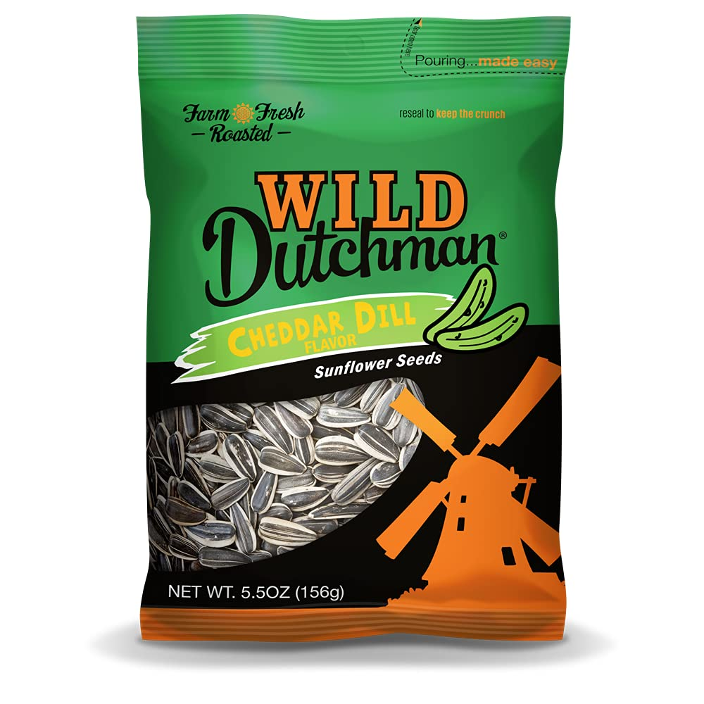 Wild Dutchman Roasted Sunflower Friendly 35% OFF Tampa Mall Recipe Seeds Mouth