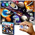 """Think2Master Solar System & Space Exploration 250 Pieces Jigsaw Puzzle Fun Educational Toy for Kids, School & Families. Great Gift for Boys & Girls Ages 8+ to Stimulate Learning. Size: 14.2"""" X 19.3"""" by Think2Master"""