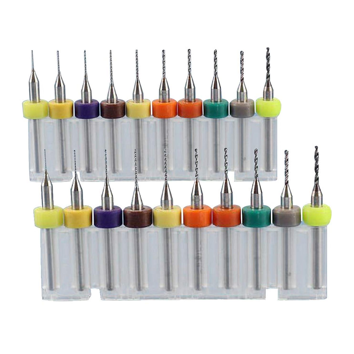 ベリー氏幼児マイクロドリルビット 0.15-1.05mm 0.1-1.0mm PCB回路基板用 CNC彫刻に適用