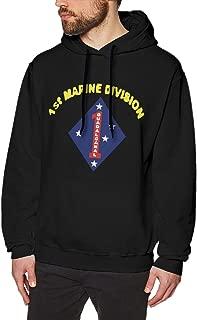 US 1st Marine Division Men's Sweatshirt Pullover Hoodie