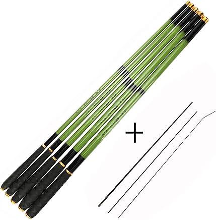 Goture 1 Piece Carp Fishing Pole, Carbon Fiber Ultralight...