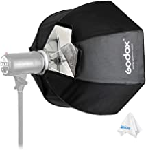 Godox 120cm / 47.2in Portable Octagon Softbox Grid with Carrying Case - Bowens Mount