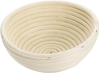 Westmark Gärkörbchen, Für 1000 - 1500g Brotteig, Rund, Durchmesser: 20,5 cm, Peddigrohr, Hellbeige, 32072270