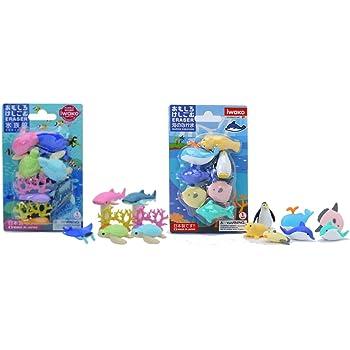 Pack PVC 5 gomas de borrar puzzle desmontables colorz koala Miquelrius