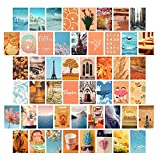 Wall Collage Kit Aesthetic Pictures, Bedroom Decor for Teen Girls,Wall Art Print for Room, Dorm Photo Display(50 Set 4x6 inch)