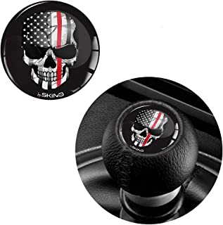 1 x 3D Sticker for Shift Lever Gear Knob JDM S 41