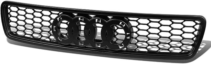 For Audi A4/ A4 /S4 Quattro Honeycomb Front Upper Bumper Grille Guard (Satin Black) - typ 8D B5 1st gen