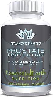 EssentialEarth Nutrition Advanced Prostate Defence Saw Palmetto + 30 Natural Herbs, Vitamins + Minerals, Lycopene & Pumpki...