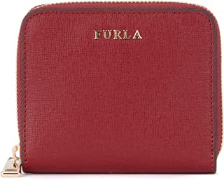 Furla Women's Furla Babylon Cherry Red Leather Wallet Red