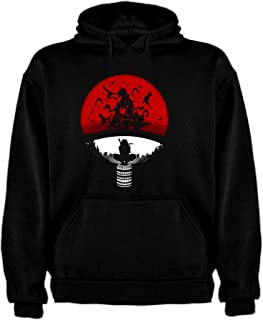 RedJade Tops Chaqueta Camisa de Jersey Chaqueta de Sudor Desgastar Camisa de Jersey Sudaderas con Capucha Akatsuki Negro Ni/ños Chicos L