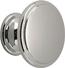 Metafranc Meubelknop Ø 30 mm - verchroomd - gepolijst - hoogwaardige afwerking - mooi vormgegeven & decoratief - incl. mon...