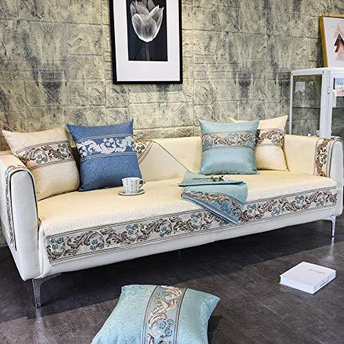 YUTJK Phoenix Pattern Sofadecke,Couchdecken,Ecksofa-Bezug,Sofa Abdeckung,Chaiselongue-Sofabezug,Weicher Atmungsaktiver Sofaschoner,Für Schlafzimmer,Beige