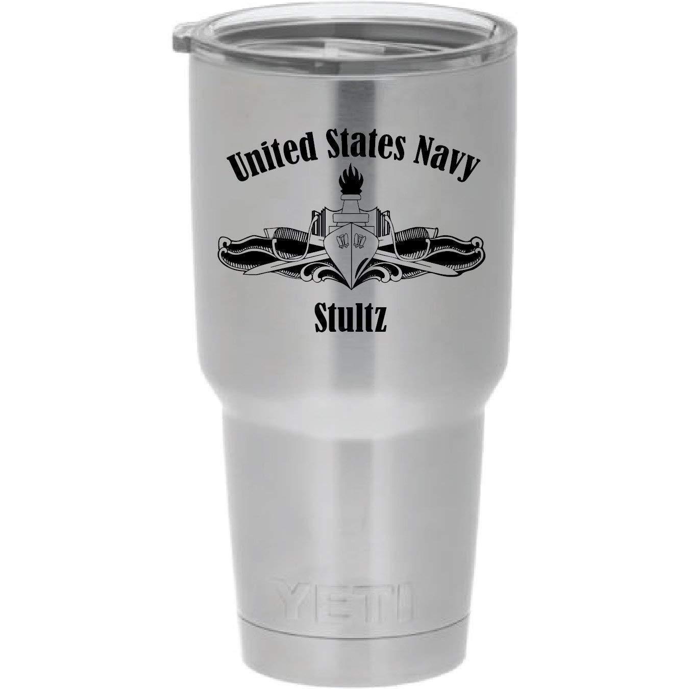 YETI Rambler US Navy Surface Weekly update Free Shipping Cheap Bargain Gift Laser Stai Design Engraved Warfare