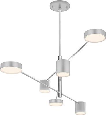 Amazon.com: Fredrick Ramond FR35804 Bowery - Lámpara LED de ...