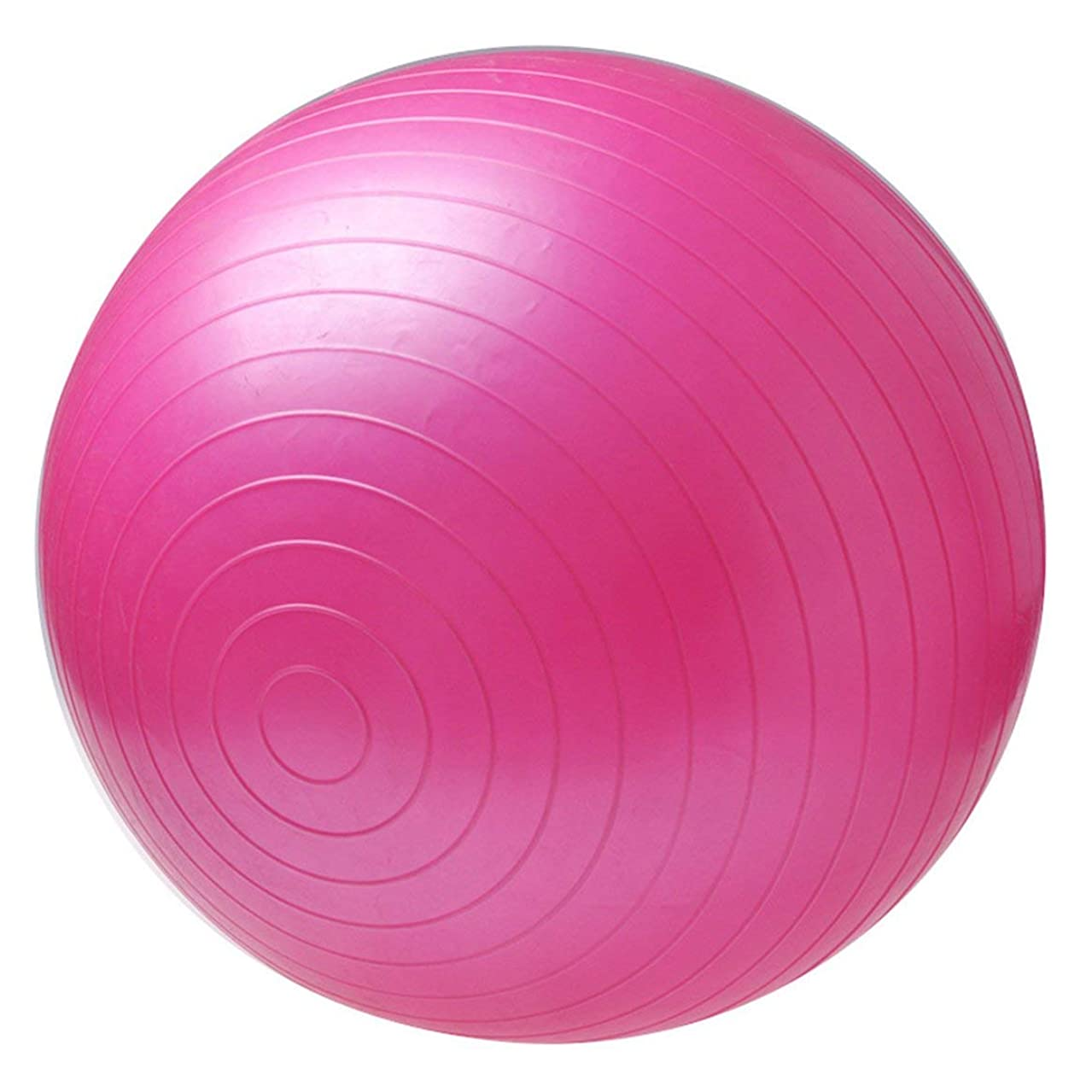 時折蚊風味無毒スポーツヨーガボールボラピラティスフィッティングネットワークバランスフィッティングボールエクササイズピラティスエクササイズメッセージボール(ピンク)