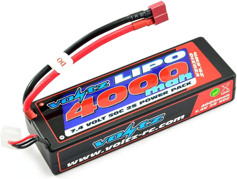 Voltz 4000mAh 2S 7.4v 30C Hard Case LiPo Stick Battery