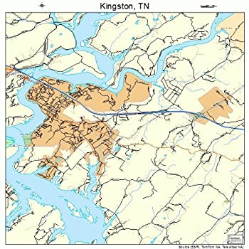kingston tennessee map